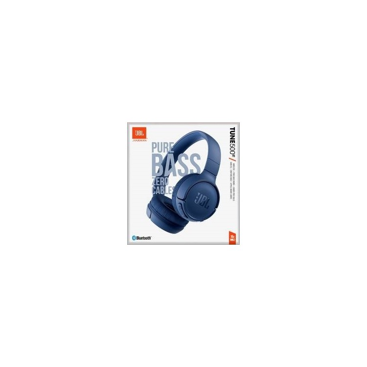 JBL HEADPHONE T500 Wired On-ear Blue S. ame